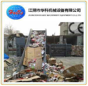Waste Paper Plastic Baler Full Automatic pictures & photos