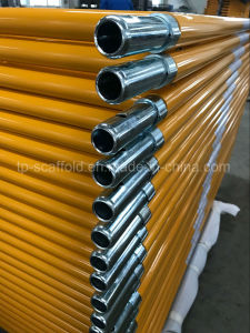 Steel Yellow Painted Frame Scaffolding Walk Through Frame pictures & photos