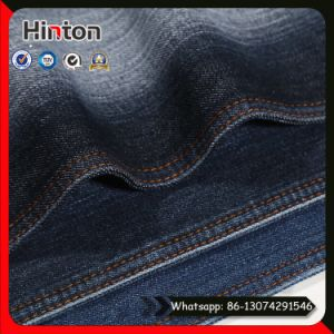 in Stock Cheaper Twill Denim Fabric with Slub for Jeans pictures & photos