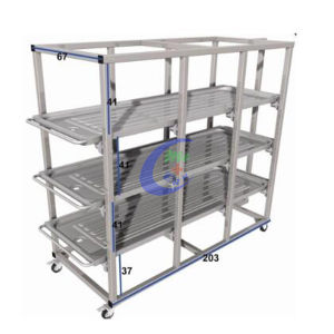 Mccfj-1 Mortuary Storage Rack pictures & photos
