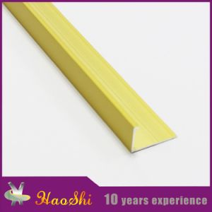 Wholesale Extruded L Shape Aluminum Ceramic Tile Trim Profiles (HSRO-220)