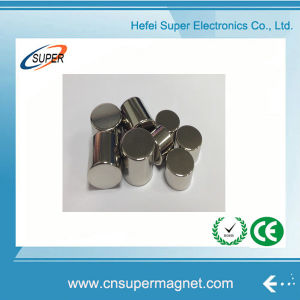 N42 Rare Earth NdFeB Permanent Magnets Cylinder Neodymium Magnet pictures & photos