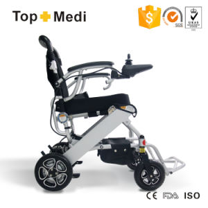High Quality Light Weight Small Electric Wheelchair Tew007b+ pictures & photos