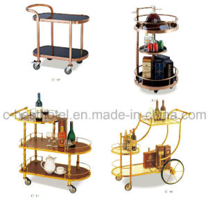 Newest Design Hotel Guest Room Service Cart pictures & photos