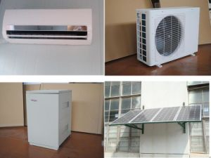 Mini Split Wall Mounted Solar Powered Air Conditioner with 9000-24000BTU pictures & photos