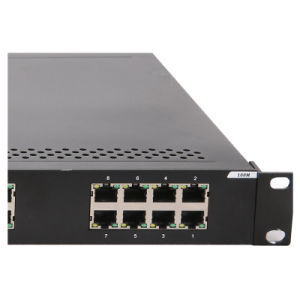 28 Ports Industrial Ethernet Network Switch with 2 SFP pictures & photos