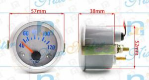 "2"" 52mm 40-120 Automotive Water Temperature Gauge of White Light pictures & photos"