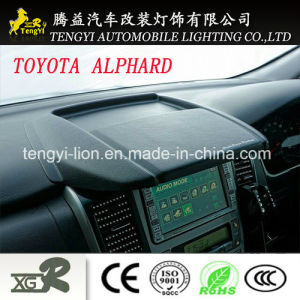 Anti Glare Car Navigation Sunshade for Toyota Alphard 20 Series pictures & photos
