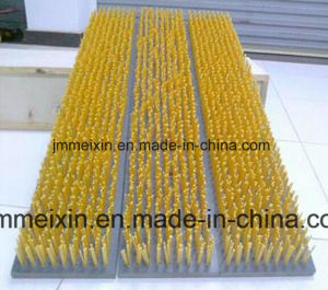 Automatic 2 Axis Glass Cleaning Brush One Drilling and One Tufting Machine pictures & photos