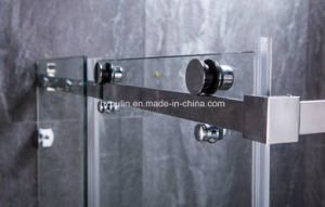 Stainless Steel Shower Enclosure with Big Roller pictures & photos