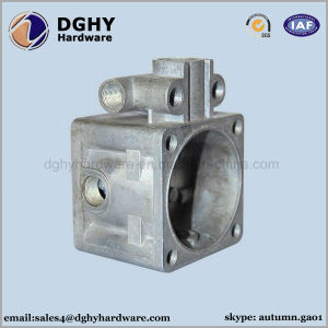 Custom Aluminum Zinc Alloy Die Casting Parts with Black Anodizing pictures & photos