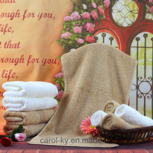 100% Cotton Dobby Border Hotel Bath Towel pictures & photos