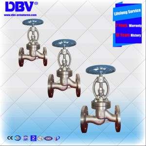 API Class 150 Cast Stainless Steel CF8 Globe Flanged Valve