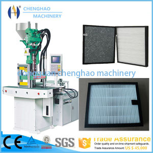 85t Plastic Double Slide Injection Molding Machine for Making Air Strainer pictures & photos