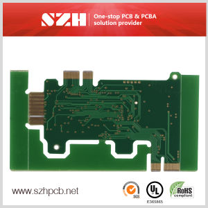 Gold Finger 4 Layer PCB Supplier with Industrial Control pictures & photos