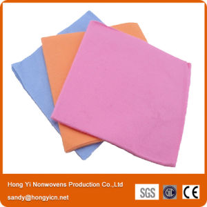 100%Viscose Nonwoven Fabric Kitchen Cleaning Cloth, Needle Punched Viscose Nonwoven Cloth