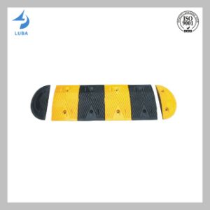 Hotsale Black & Yellow Color Rubber Reflective Speed Hump pictures & photos
