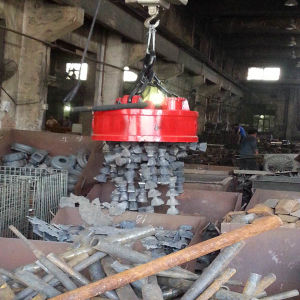 Excavator Steel Plate Lifting Magnet pictures & photos