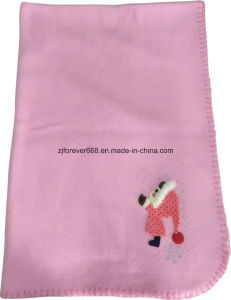 High Quality Soft Feeling Girl Design Toy and Baby Fleece Blanket pictures & photos