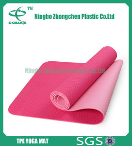 Custom Printed Mat for Yoga Travel Pilates TPE Yoga Mat pictures & photos