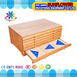 Leaves Wooden Toys Rack, Children Educational Toy Cabinet pictures & photos