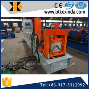 Kxd 312 Color Steel Metal Roofing Sheet Ridge Cap Roll Forming Machine pictures & photos