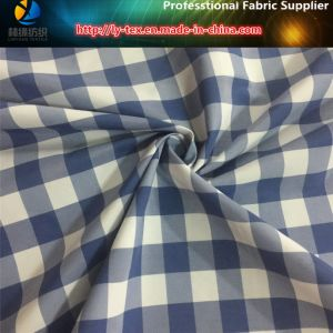 Blue/White Nylon Yarn Dyed Fabric, Taslon Check Textile Fabric for Beach Shorts (YD1117) pictures & photos