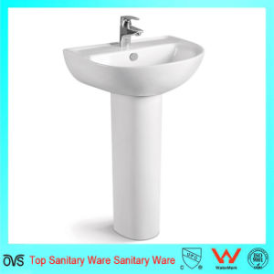 Ceramic Washing Modern Bathroom Vanity Sink Basin Cabinet Set pictures & photos