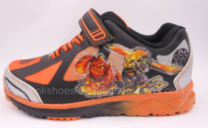 Sports Shoes with Light for Boys pictures & photos