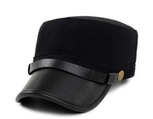 PU Visor Army Cap pictures & photos
