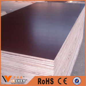 Factory Customized Plastic Film Faced Plywood Commercial Plywood pictures & photos