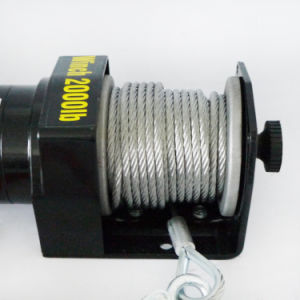 ATV 12V DC off-Road Electric Winch with 2000lb Pulling Capacity pictures & photos