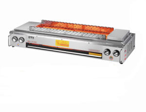 Automatic Rolling Gas BBQ Grill Made in China pictures & photos