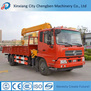 5% Discount Hydraulic Telescopic Boom 3.5t Truck Mounted Crane pictures & photos