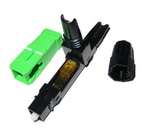 FTTH Sc APC 0.9/2.0/3.0mm Fiber Optic Fast Connector pictures & photos