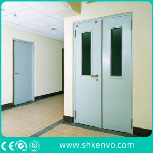 UL Certified Fire Rated Glazed Metal or Steel Exit Door pictures & photos