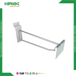 Supermarket Display Equipment Slatwall Shop Fittings Display Hook pictures & photos