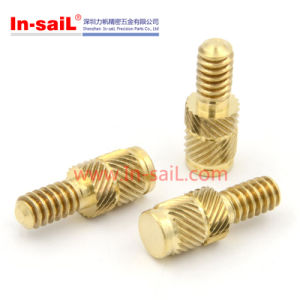 Outer Opposite Helical-Knurled Insert for Plastic Type pictures & photos