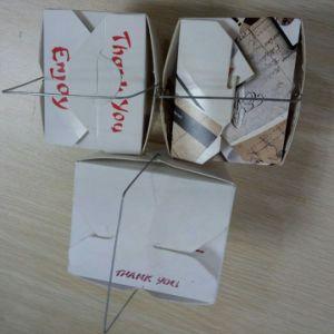 Iron Wire Paper Carton Box Machine pictures & photos