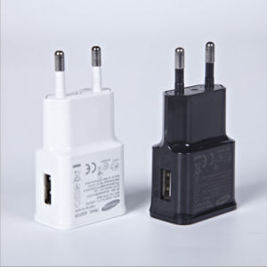 Us EU UK Plug 5V 1A /2.1A USB Charger for Samsung iPhone pictures & photos