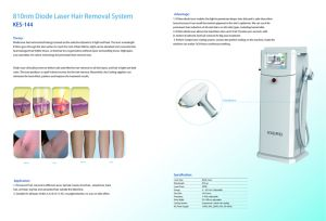 808/810 Diode Laser Hair Removal System pictures & photos