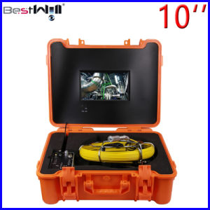 Waterproof 23mm Video Pipe Inspection Camera Cr110-10g with 10′′ Digital LCD Screen with 20m to 100m Fiber Glass Cable pictures & photos