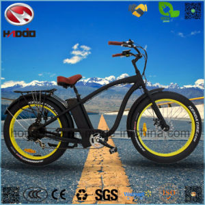 Alloy Frame 500W Fat Tire 2 Passenger Electric Beach Bicycle pictures & photos