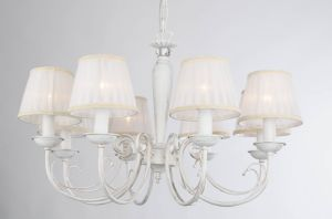 Comtemporary Modern Plain White Fabric Chandelier for Indoor pictures & photos