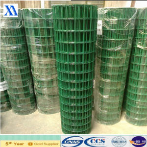 Green Plastic Coated Welded Wire Mesh 30m pictures & photos