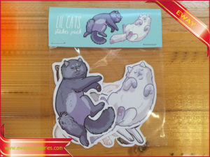 Party Decal Sticker Printing Promotional Packing Sticker pictures & photos