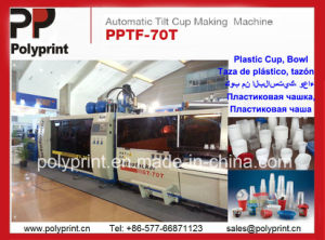Instant Coffee Plastic Cup Forming Machine (PPTF-70T) pictures & photos