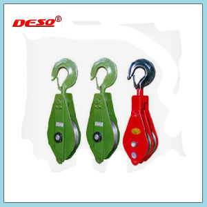 Heavy Duty Open Type Pulley Snatch Block pictures & photos