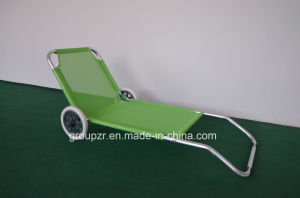 Leisure Alumulum Camping Chair with Wheel pictures & photos