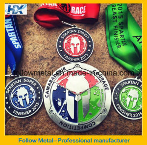 High Quality Magnetic Medal for Sparta Run pictures & photos